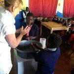 Handwashing class