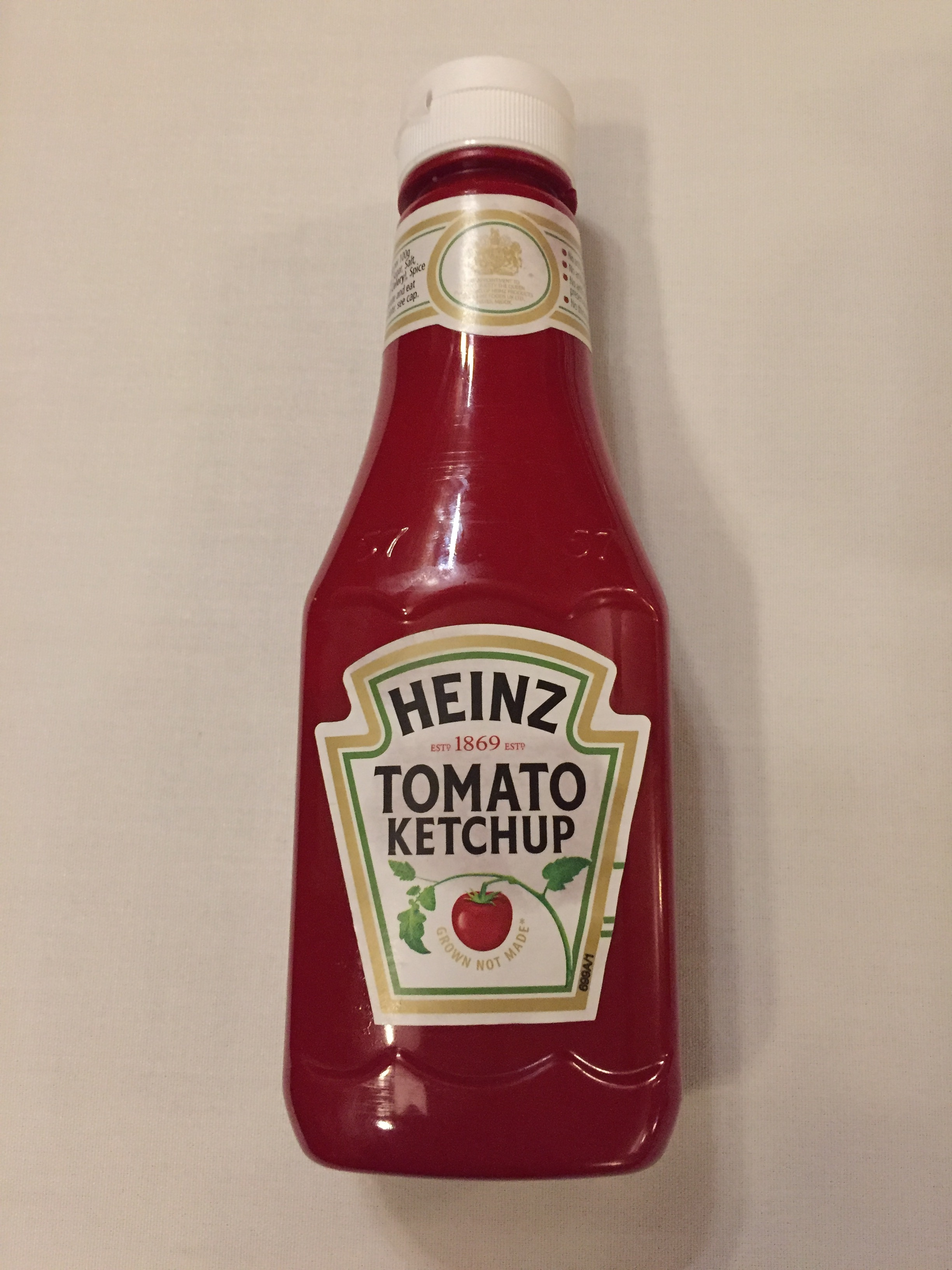 Ketchup may need to be stored in the fridge